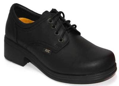 Roc Dakota Black School Shoe