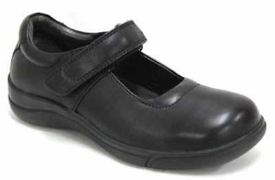 New CLARKS PETITE BLACK SCHOOL SHOE