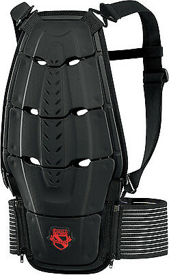 Icon Stryker Field Armour Motorcycle Motorbike CE Back Protector Harness