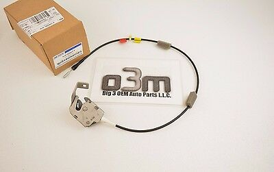 1997-2004 Ford F-150 Extended Super Cab Rear Upper Door Latch with Cable new OEM