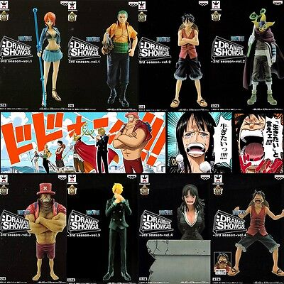 ONE PIECE DRAMATIC SHOWCASE 3rd season Complete set