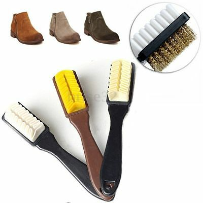Cleaning Brush + Free Rubber Eraser Set Suede Nubuck Shoes Boot Cleaner Cleaning