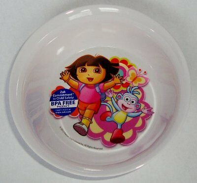 "Zak Designs Dora The Explorer 5.5"" Round Bowl"