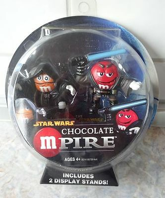 M&M STAR WARS Mpire SKYWALKER und EMPEROR PALPATINE