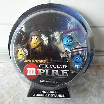 M&M STAR WARS Mpire  MACE WINDU u. CHEWBACCA
