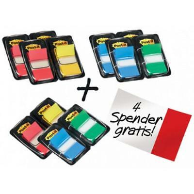 Post-it Haftmarker Index, 25, 4 x 43, 2 mm, Vorteilspack (4046719666195)