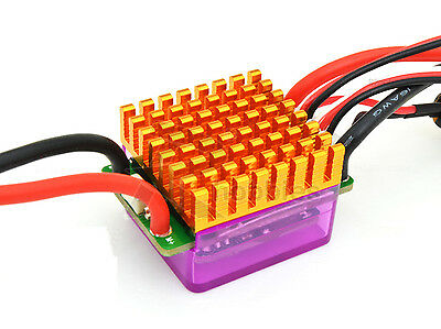 340A ESC Brushed Speed Controller Low Voltage Protective for RC 1/10 Car Crawler