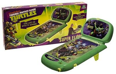 FLIPPER TURTLES FLIPPER LUCI E SUONI 230220 STARTRADE -nuovo- Italia