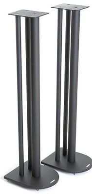 Atacama Nexus 10i Speaker Stands Satin Black (Pair)