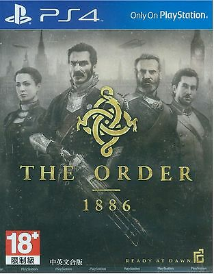 The Order: 1886 HK Chinese/English subtitle Version English voice PS4 NEW