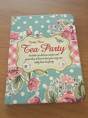 Tea party includes 20 delicious recipes and great ideas