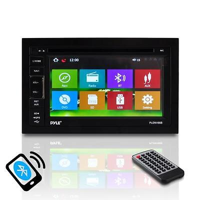New 6.5'' Double-DIN Touchscreen Video Multimedia Disc/MP4/MP3 Player Bluetooth