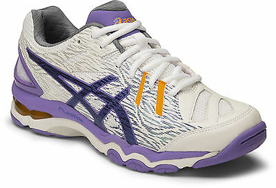 Asics Gel Netburner Super 6 Womens Netball Shoes (B) (0143)  + Free Aus Delivery