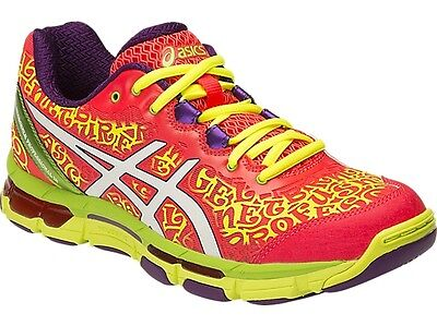 Asics Gel Netburner Professional 12 Womens Netball Shoes (B) (2001)