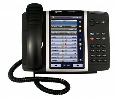 Mitel 5360 IP Phone Color Touch Screen Display Part 50005991 NEW 1 YEAR WARRANTY
