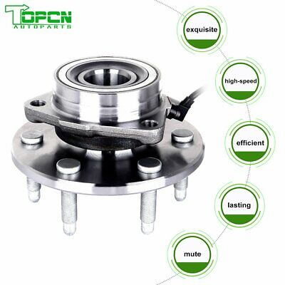 Front Wheel Hub Bearing Assembly For GMC Chevy Cadillac Truck 4x4 4WD AWD W/ABS