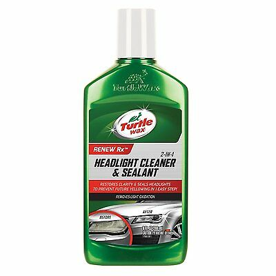 Car Wax Cleaner Polish Sealant Headlight Protector Clear Restore New 9oz Safe US