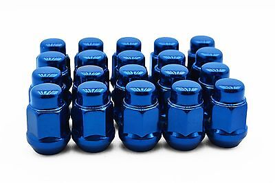 20pc Blue Bulge Acorn Lug Nuts M12x1.5