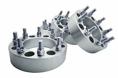 "4pc 2"" Thick 8x6.5 Wheel Spacer Adapter Kit Fits RAM 2500 3500 2012-2015"