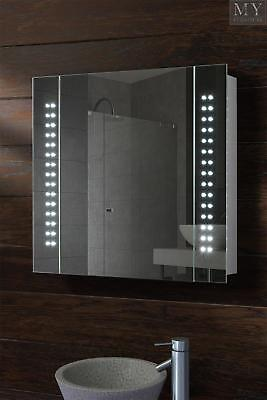 Photonic Illuminated LED Battery Bathroom Mirror Cabinet