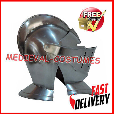 Knight Antique Helmet Replica Medieval Knight Crusader Armor Gift & Decorative h