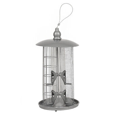 Bird Feeder - 3 in 1 - Deluxe Nut, Seed & Fat Ball Feeder. Cut price Deals