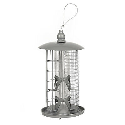 DELUXE BIRD FEEDER - 3 in 1 - INCLUDES SEED / NUT / FATBALL CHUTES - MULTI DEALS