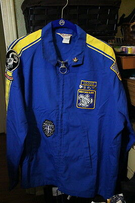 1970s Vintage Michelin  Racing Pit Crew Jacket