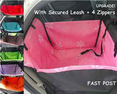 Double Layers Waterproof Pet Car Seat Cover Dog Hammock Protector Back Mat 0.8kg