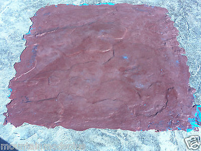 4 Slate Seamless Texture Stamp Mat Skin 2.5' Concrete Cement Stamping Tools NEW