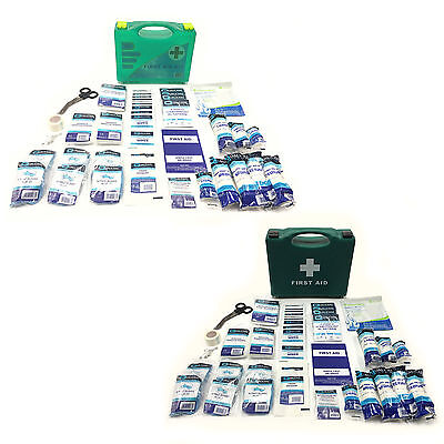 Qualicare Bsi Bs8599 Premium Office Home Workplace Small 90Pce First Aid Kits