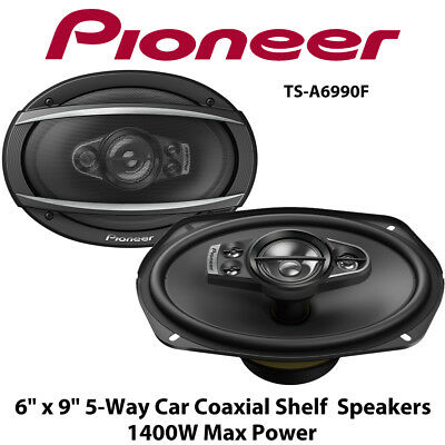 "Pioneer TS-A6934i -   6"" x 9""  6x9's Coaxial 4-Way Rear Shelf Speakers 600W"