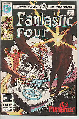 FANTASTIC FOUR #117/118 french comic français EDITIONS HERITAGE