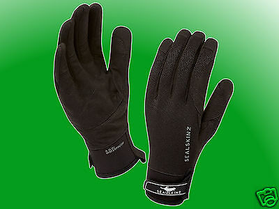 Dragon Eye Glove black - Seal Skinz wasserdichte / wasserfeste Handschuhe