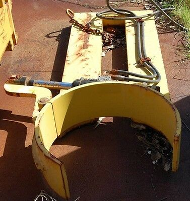 Forklift Drum Lifter hydraulic $400 till end april call for deal hyster crown
