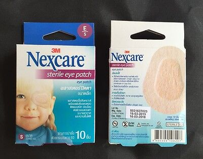 3M Nexcare Opticlude Sterile Eye Patch Orthoptic Plaster Adhesive 2.44x1.97 inch