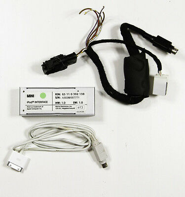 Genuine MINI One / Cooper / S iPod Interface retrofit kit R50 R52 R53