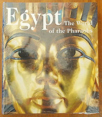 EGYPT: WORLD OF THE PHARAOHS by Regine Schulz HUGE REFERENCEBOOK ~ COLOR PLATES