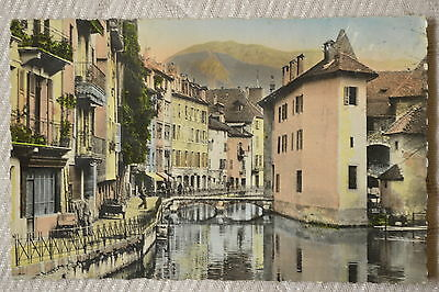 """CPSM """" ANNECY - Vieux Canaux"""
