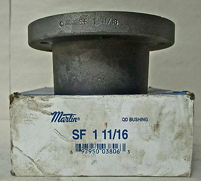Martin Sf Bushing - Sf 1-11/16 - Bored To Size W/Keyway ***New***
