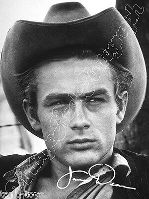 JAMES DEAN -  print signed photo - foto con autografo stampato