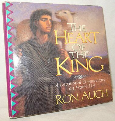 The Heart Of The King signed Ron Auch Devotional Commentary on Psalm 119