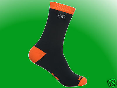 DexShell Thermlite Sock orange - wasserdichte / wasserfeste Socke