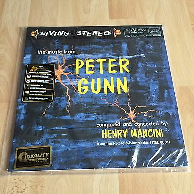 Henry Mancini - Music From Peter Gunn Analogue Productions 45RPM 200g Vinyl 2-LP