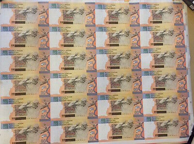 NEW Banknote sheet 24 pcs. 80th Penderecki KP 0000001
