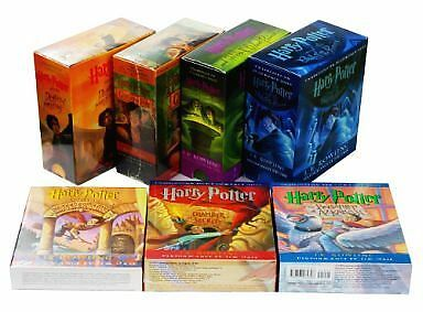 Harry Potter Books 1 to 7 Audio Collection Box -  J. K. Rowling  (Audiobook CD)