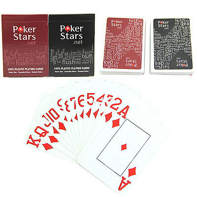 Glamorous Plastic Playing Poker Cards Set Poker Letters Game Cards For Poker