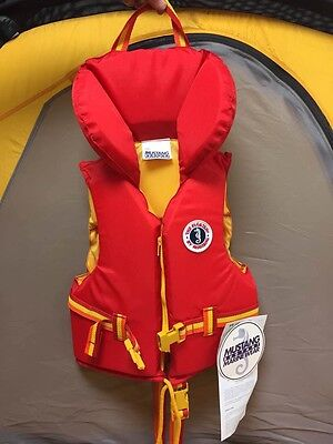 Mustang Youth's Floater Vest, 27-41 kg/60-90 lbs, Orange, Coast Guard Approved
