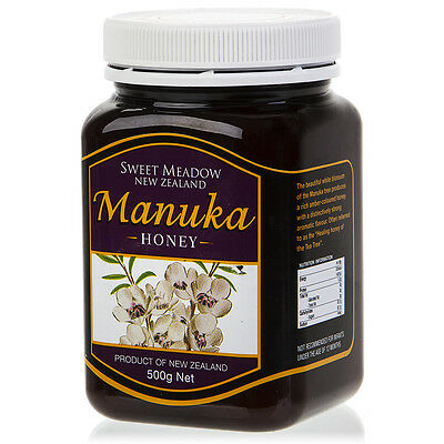 NEW Sweet Meadow Manuka Honey 500g