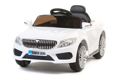 White 535 Saloon, Suspension, RC, Kids' Electric Ride On Car